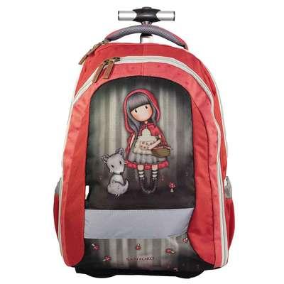 Santoro London - Batoh školní na kolečkách 31l - Gorjuss - Little Red  Riding Hood 5aa1b1c9bd