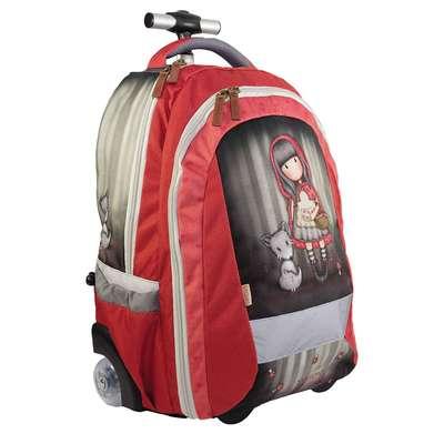Santoro London - Gurulós iskolatáska 31l - Gorjuss - Little Red Riding Hood d57b57ee23